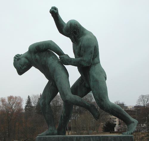 Gustav vigeland vigelandsparken oslo