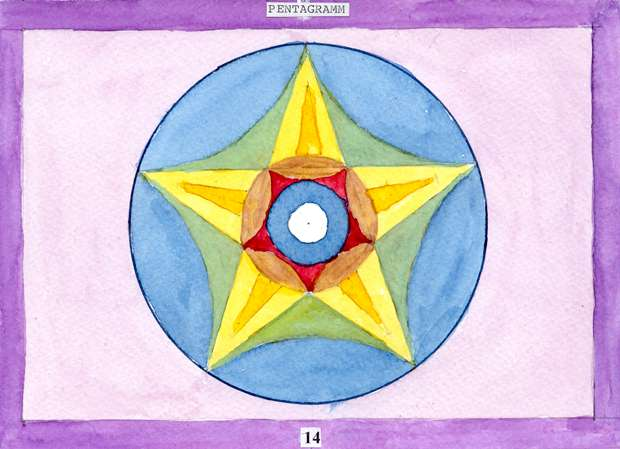 goldener schnitt pentagramm